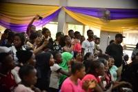 FCE students were on their feet in less than two minutes