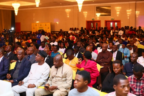 A full hall at the Civic Centre, Victoria Island Lagos for the first ASAP State Conference