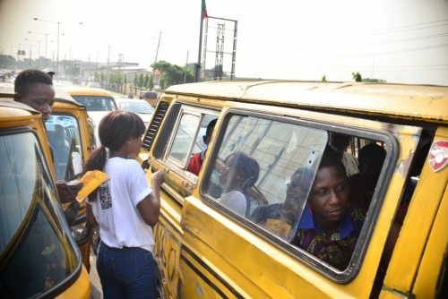 We got to gist with people on the streets of Lagos about the problems of substance abuse.