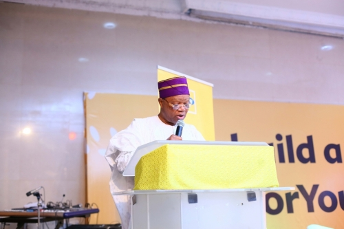 Mr. Dennis Okoro, Director, MTN Foundation, shared words of wisdom on why the country cannot repeat the mistakes of the past with mental awareness