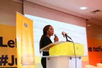 Nonny Ugboma, Executive Secretary, MTN Foundation, presented ASAP initiative and timeline of activities